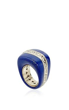 Vhernier - One-of-a-Kind Nilo Lapis Trilland Ring (=)