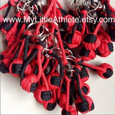 Pick your colors. Bulk Volleyball Keychain Gift on Etsy, $6.00