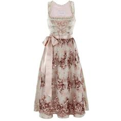 Stunning Evening Dirndl Dirndls ❤ liked on Polyvore featuring dresses, gowns, short dresses, mini evening dresses, short evening dresses, special occasion dresses and cocktail dresses