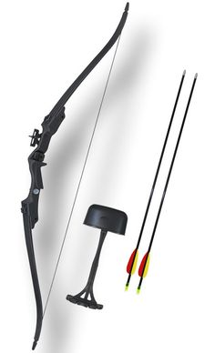 20 Lbs. Nice Black Hunter Archery Recurve Bow | eBay