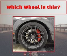 Can you guess which wheel this is?! Drop your guess below! 😎 #Wowwoodys #wheels #guessthatwheel #carwheels