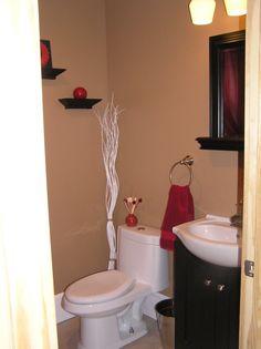 Small Half Bath On Pinterest Half Baths Powder Rooms And Powder Room Design