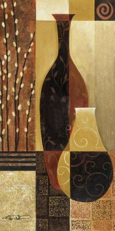 Prelude (Vases) by Keith Mallett  39x22 $36 16x12 $11.20