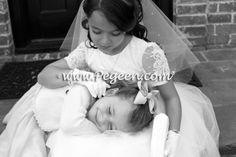White First Communion Dresses or Flower girl dresses