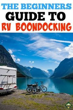 RV boondocking. Are you thinking about giving RV boondocking a try but you have so many questions to ask. We had some A LOT of questions to ask before we decided to give it a go!. #RVboondocking #RV #RVing #RVliving #RVcamping #Camping