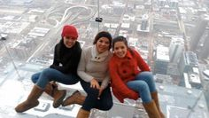 Feliz de compartir este viaje a Chicago con mis dos amores. Dic 2011