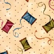 South Sea Import Fabric A Quilters Home thread 1416