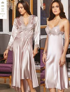 92d17924e9 Jeremi 612 6 Pcs Satin Robe Set will make you redefine comfort when you wear  this cozy and stylish set.