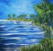 Palms 2 By Artist Sharon Wood swoody@adam.com.au