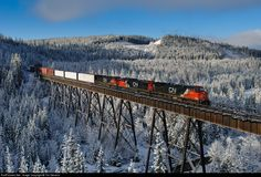 RailPictures.Net Photo: CN 2645 Canadian National Railway GE C44-9W (Dash 9-44CW) at Hinton, Alberta, Canada by Tim Stevens