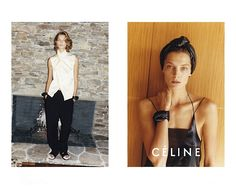 Daria Werbowy for Céline SS 2013 Campaign by Juergen Teller 2