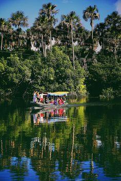 Travessia do Rio Preguiças, São Luis do Maranhão, Brasil