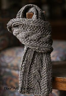 """This pattern is the second in the series """"While Watching British Mysteries on Netflix."""" Easy and fun to knit, goes really fast yet has a nice substantial feel to it. The fiber is lightweight even though it's chunky. It goes with everything because its style is classic and yet down to earth."""