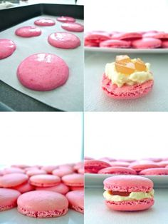 DESSERT macarons on Pinterest | Macaroons, Mascarpone and Meringue