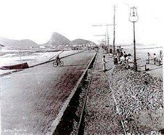 Avenida Delfim Moreira (Praia do Leblon) em 1919