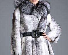 Cruella DeVille fox fur coat