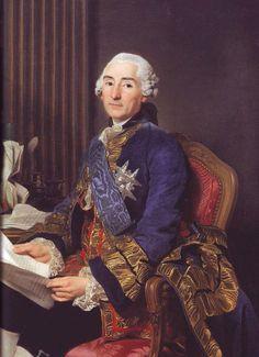 César Gabriel de Choiseul, duc de Praslin was a French officer, diplomat and statesman. Gabriel, Bourbon, Potrait Painting, Rococo Fashion, 18th Century Fashion, Ludwig, Vintage Artwork, Marie Antoinette, A4 Poster