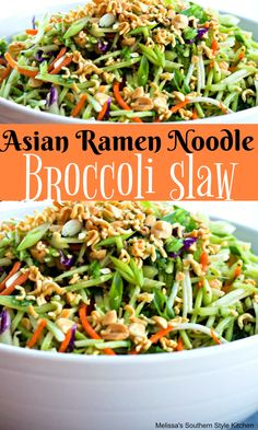 recipeoftheday ramennoodles broccoli noodle foodie recipe summer picnic asian ramen salad slaw Asian Ramen Noodle Broccoli SlawYou can find Ramen noodle salad and more on our website Asian Broccoli Slaw, Broccoli Slaw Recipes, Broccoli Slaw Salad, Broccoli Slaw Dressing, Recipe For Brocolli Slaw, Tuna Salad, Broccoli Cole Slaw, Salad Dressing, Ramen Noodle Slaw