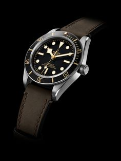 Black Bay Fifty-Eight Tudor Black Bay, Tudor Heritage Black Bay, Amazing Watches, Cool Watches, Rolex Watches, Watches For Men, Wrist Watches, Trends 2018, Swatch