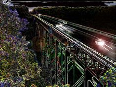 New River Gorge Bridge, Fayette County, WV.  less than 5 miles from my house.  Beautiful.