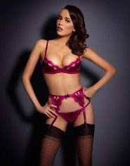 Luxury Suspenders by Agent Provocateur: Suspenders, Garter Belts & Waspies - another gorgeous set...
