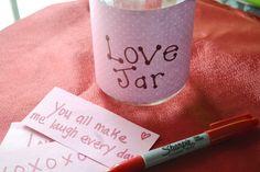 Valentine Love Jar