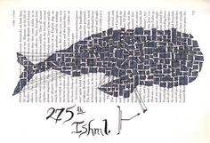 Matt Kish Moby Dick illustration series