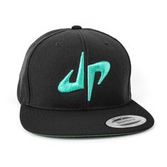 DP Snapback // Black   Green | Dude Perfect official storefront powered by Merchline
