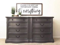 @gracefully_aged_distressed used Wise Owl Weathervane and Snow Owl on this gorgeous piece!  🤩 #wiseowlpaint #weathervane #painted #furniture #dresser #warm #gray #brown