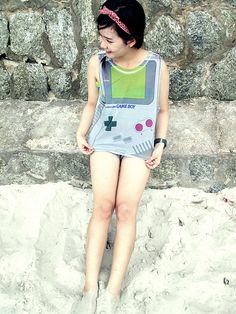 #Nintendo Gameboy Tank by Yes In This ($15.99)