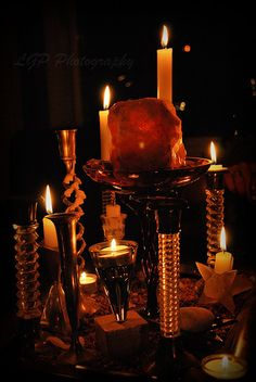 Candle Light by Moon Goddess Earth