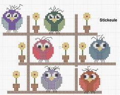 owl trellis free chart