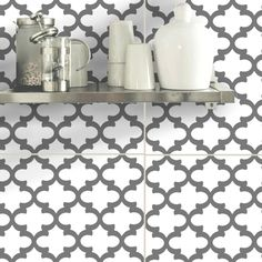 Removable Vinyl wall tile sticker decals