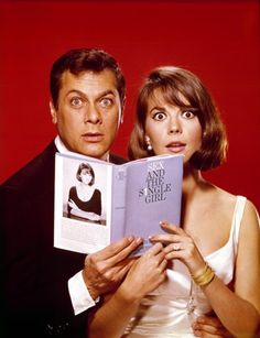"""Tony Curtis and Natalie Wood  """"Sex and the Single Girl"""", 1964"""