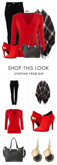 """Red Boots"" by sherbear1974 ❤ liked on Polyvore featuring Moschino, Wet Seal, Ellen Tracy, Love Moschino and Marc by Marc Jacobs"