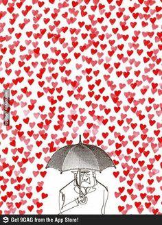 Deixa chover...
