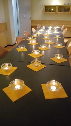 Kynttilät.