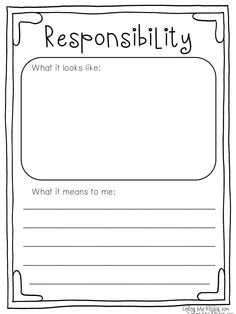 Good Character Traits Free Printable with a Spoonful of Sweetness Book Review