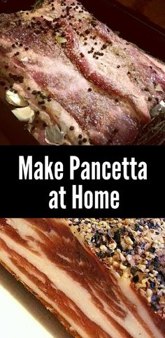 It's super simple. How to make pancetta at home. Video Included! ~ http://www.baconismagic.ca