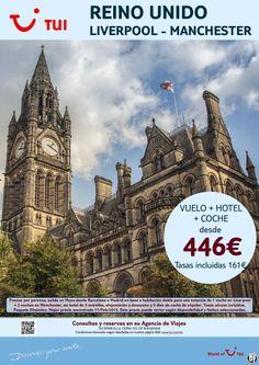 ¡Liverpool - Manchester! Mayo. Vuelo+Hotel+Coche. Precio final desde 446€ ultimo minuto - http://zocotours.com/liverpool-manchester-mayo-vuelohotelcoche-precio-final-desde-446e-ultimo-minuto/