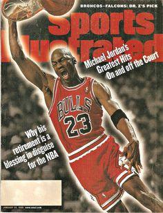 251999 sports illustrated magazine michael jordans greatest hits poster