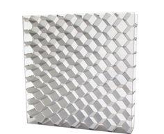 Panel sándwich para decoración interior / cara de fibra acrílica / alma nido de abeja de aluminio HEXABEN™ BENCORE