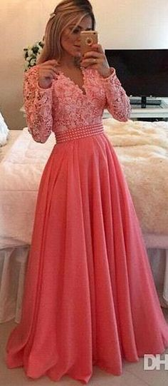 Lace Long Prom Dresses 2016 Muslim Islamic Wedding Dress New Long Sleeve V Neck A Line Royal Blue Party Evening Gowns Custom Made Hot