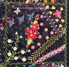 Sew So Crazy!©: Colour, colour, colour - crazy quilting by Judith
