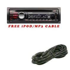 Brand New Sony CDX-GT56UI (CDXGT56UI) In-dash AM/FM, CD, MP3, WMA, AAC player with Remote Receiver w/ Front USB, Aux, 7-Band EQ, Quick-BrowZer, SIRIUS or XM Satellite Radio Ready, iPod and iPhone Ready+*Free $20 3.5 Mm iPod/MP3 Audio Cable* (CDXGT56UI) (Electronics)  http://www.sl-g.com/atamz7.php?p=B006US4IJA  B006US4IJA