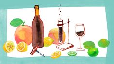 Wine Acidity Can Be Good. Except When It's Not - Pix White Wine, Red Wine, Tartaric Acid, Wine Education, Acetic Acid, Sweet Wine, Red Grapes, Wines, Good Things