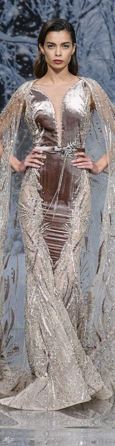 ~ Ziad Nakad Fall 2017 Haute Couture ~   Mac  
