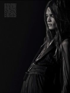 THE ULTIMATE WAY: CAROLINE BRASCH NIELSEN BY MARIO SORRENTI FOR VOGUE ITALIA MARCH 2013