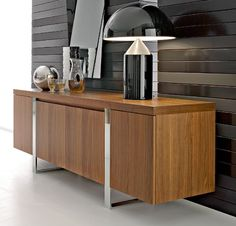 Look this great buffet for your house ! Get inspired with this amazing cabinet… Modern Buffet, Modern Sideboard, Sideboard Furniture, Modern Decor, Buffet Cabinet, Cabinet Decor, Dining Buffet, Contemporary Home Furniture, Modern Contemporary
