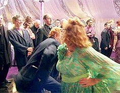 Mark Williams and Julie Walters behind the scenes of Bill&Fleur's wedding
